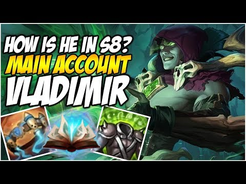 HOW IS VLADIMIR IN SEASON 8 - Climb to Master S8 | League of Legends