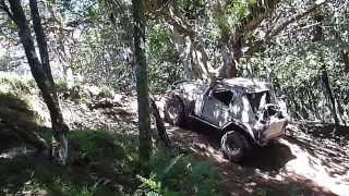 V8 jeep dead winching with god winch