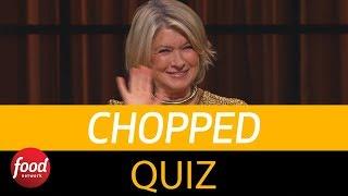 Chopped | Take the Chopped Quiz | Food Network thumbnail