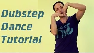 How to dance dubstep / Обучение танцу дабстеп. (dubstep dance tutorial)