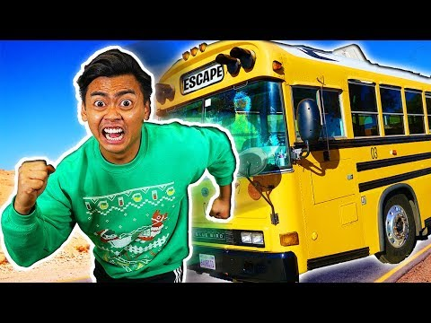 Escape The Abandoned School Bus