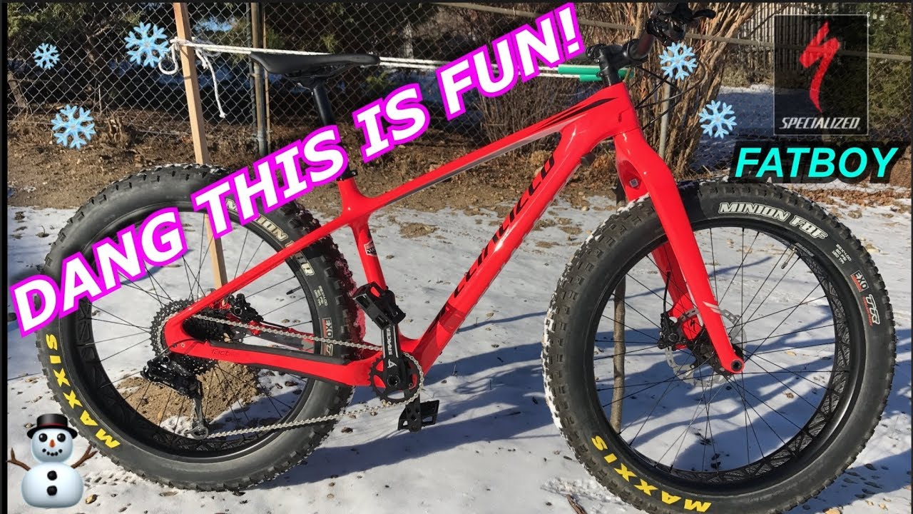 specialized fatboy carbon comp test ride and review fatbiking
