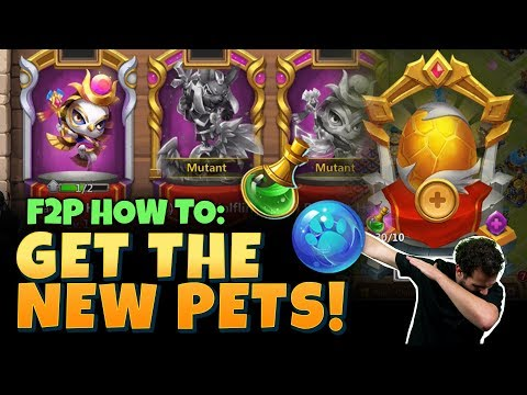 How To Get New SUPER Pet As Free 2 Play Castle Clash