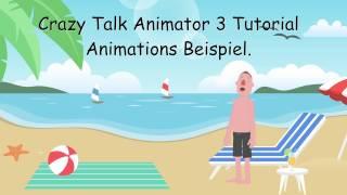 Crazy Talk Animator 3 Tutorial Animations Beispiel