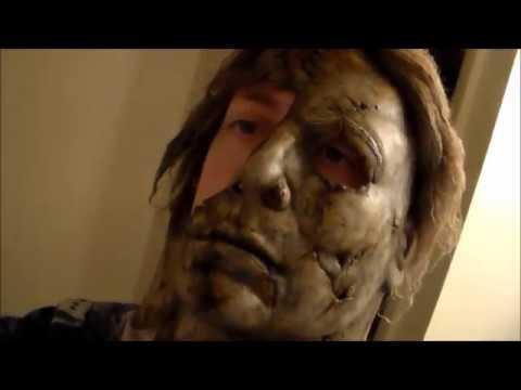 Halloween 2 Rob Zombie Mask.Halloween 2 2009 Michael Myers Exposed Mask Rob Zombie