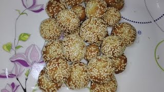 Attock City Famous Andarsay Recipe/Anarsa in Hindi/Swee Dough Balls. thumbnail