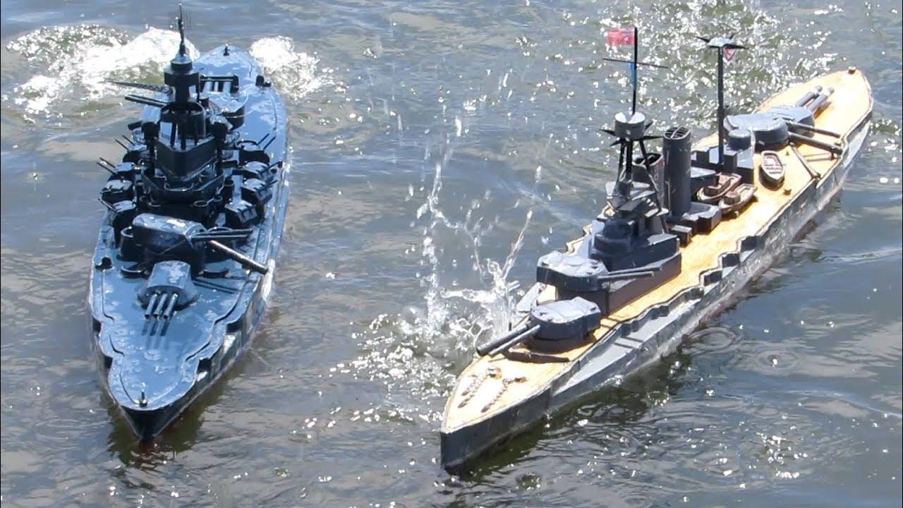 Fast Gun RC Warship Combat 1