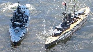 Fast Gun RC Warship Combat