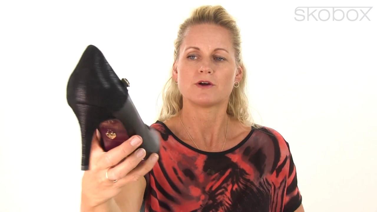 Tamaris sko – Elouise Elegant skind Pump (Sort) item no.: 24403 098