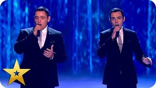 CONFIRMED ACT - Richard and Adam  BGT: The Champions