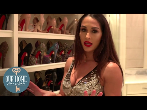 Nikki Bella's high heel collection is TO DIE FOR! - Our Home: John & Nikki thumbnail