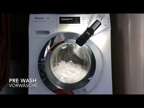 Washing Curtains / Gardinen / Cortinas / Rideaux, Miele W1, 30° C with Pre-Wash/mit Vorwäsche