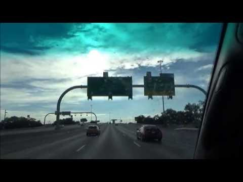 Sony CX405: August 2015 Road Trip from El Paso, TX to San Antonio, TX I-10 East