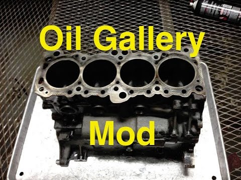 Project 2g Revamped: 6 Bolt Oil Gallery Mod