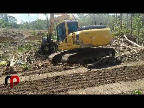 BEGINI CARA EXCAVATOR KOMATSU LAND CLEARING