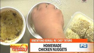 Recipe: Chef Tatung's homemade chicken nuggets