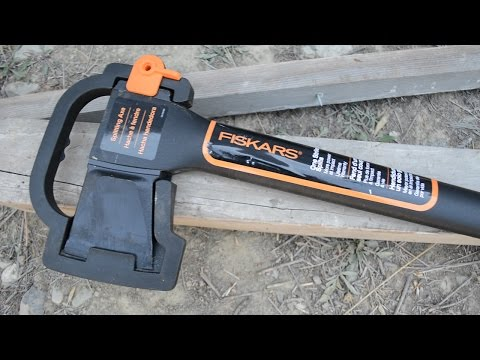 Fiskars 36-Inch Super Splitting Axe Unboxing - Yes, you can unbox an axe!