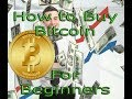How to Buy Bitcoin for Beginners & My Experince so far