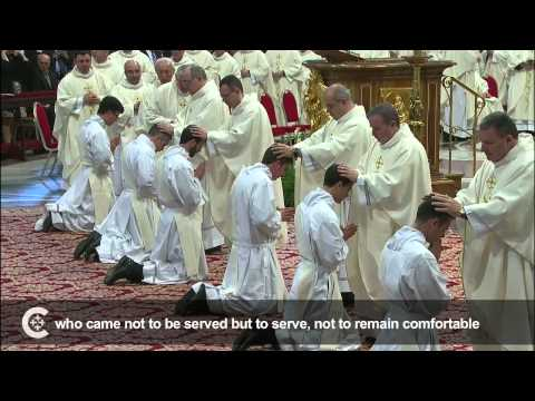Pope Francis' advice to new priests