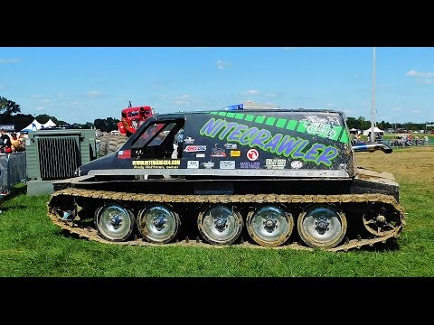 "Tracked Car Crusher  ""NITECRAWLER ""  2016 Auctions America Auburn Fall Collector Car Weekend"