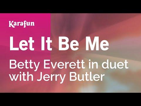 Karaoke Let It Be Me - Betty Everett *
