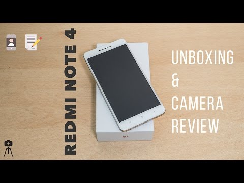 Best Budget Smartphone Camera ? Redmi Note 4 Unboxing & Camera Review