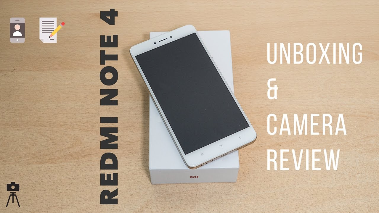Redmi Note 4 Unboxing