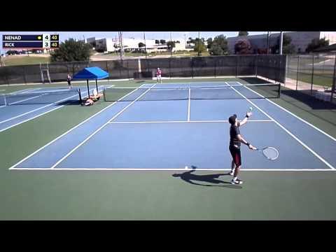 Ultimate Tennis League,QuarterFinal Match-San Antonio, Summer 2014 - 3.5 NTRP