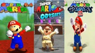 Evolution Of Mario Napping Animation Through Super Mario Games plus luigi Napping Animation