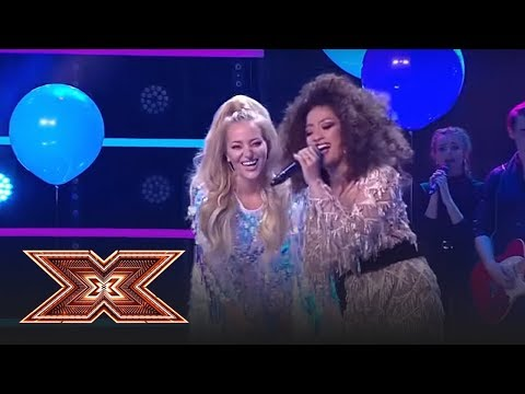 "Finala X Factor 2018. Duet. Bella Santiago & Delia - ""Cine m-a făcut om mare"""