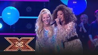 Finala X Factor 2018. Duet. Bella Santiago &amp Delia - &quotCine m-a facut om mare&quot