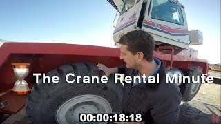 Crane Rental Minute E1 - Rough Terrain Crane