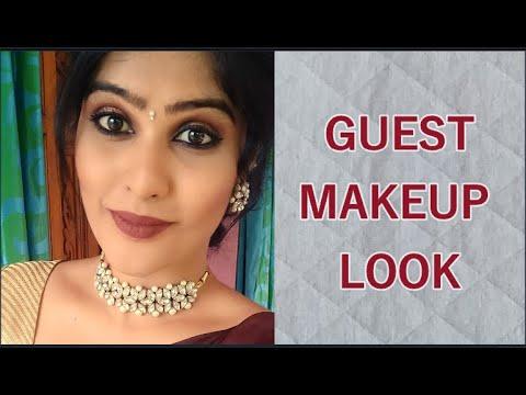 (தமிழில்)guest-makeup-look -party-makeup-look- -function-look- -nicka-k-palatte- -evening-look