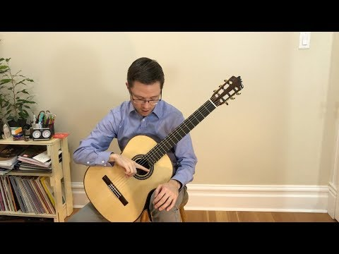 Lesson: Right Hand Tone Production on Classical Guitar