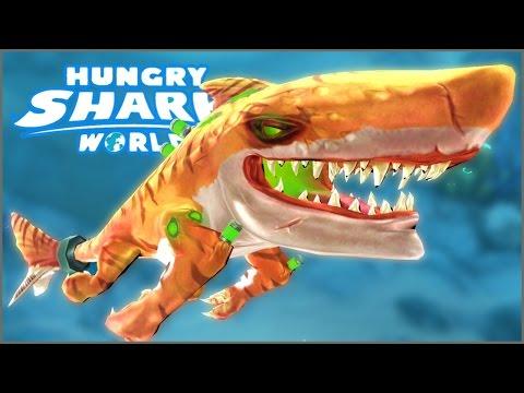 ATOMIC SHARK..!! - Hungry Shark World - NEW Special Shark In Hungry Shark World!