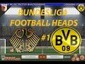 FOOTBALL HEADS BUNDESLIGA #1   BORUSSIA DORTMUND
