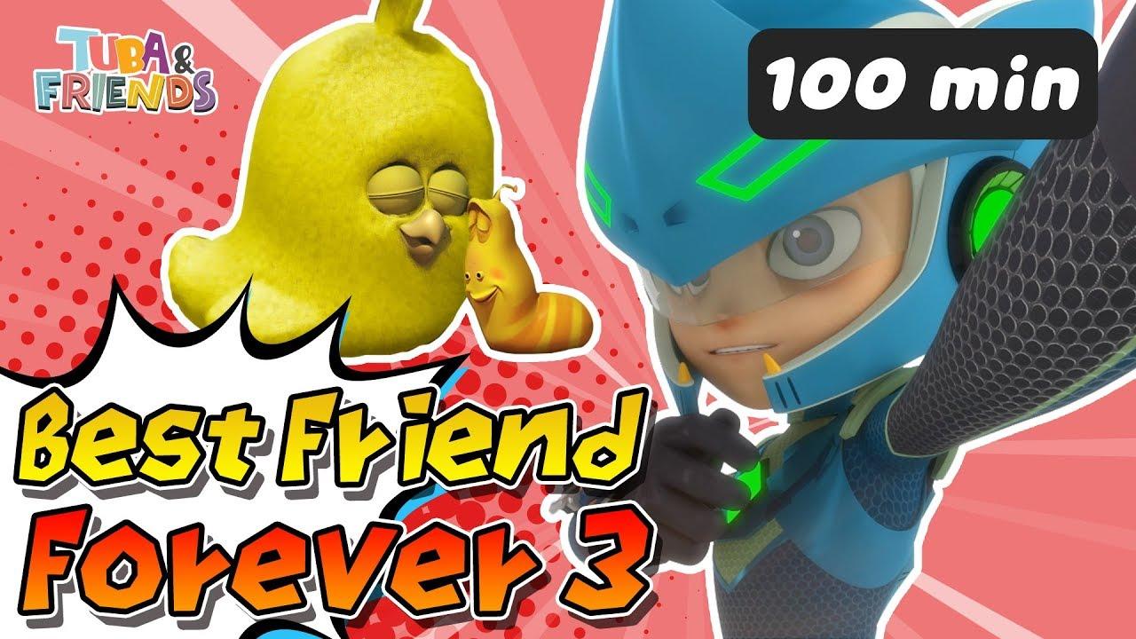 Tuban Friends Best Friend Forever 3 Dinocore Larva Cartoon