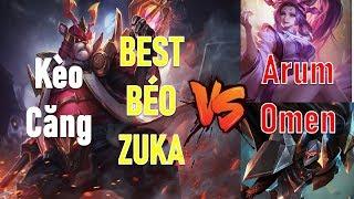 Liên quân: Zuka VS với tướng trên kèo như Omen Arum thì phải làm gì?
