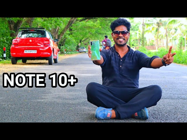 Samsung Galaxy Note 10+ Unboxing & First Look 🔥🔥🔥 Malayalam