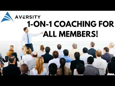 1-on-1 Coaching Program is Finally Here (For Aversity Members)