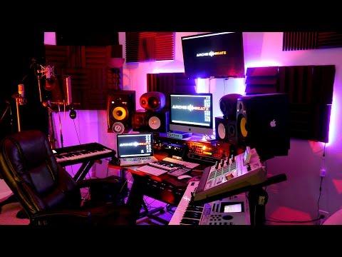 Home Studio Tour 2017 | Recording Studio
