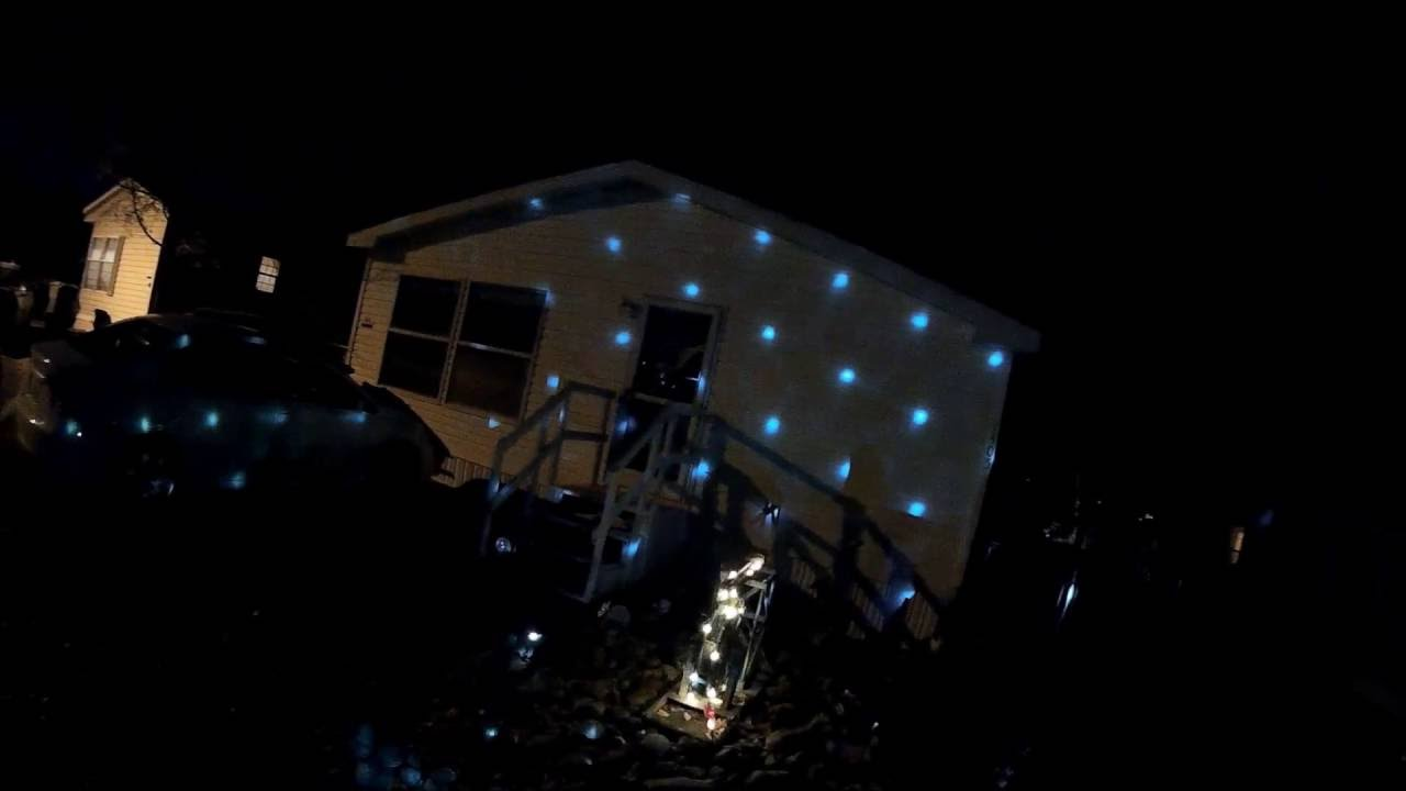 Points of light led light show from walmart youtube for Pool light show walmart
