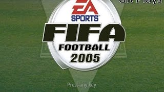 GR Plays - FIFA 2005 ( PS2 )