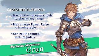 Granblue Fantasy: Versus - Character trailer (Gran)