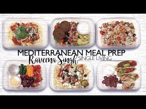 2017   SOLO LIVING   MEAL PREP - MEDITERRANEAN INSPIRED Mp3