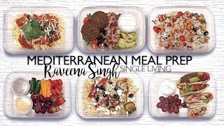 2017 | SOLO LIVING | MEAL PREP - MEDITERRANEAN INSPIRED