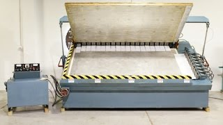 "L&l Du-all 100 Radio Frequency Press 56"" X 112"" Capacity"