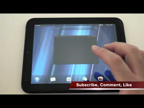 HP Touchpad WebOS Overview