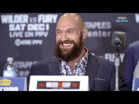 Deontay Wilder v Tyson Fury final press conference best bits