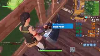 AMD Radeon R7 250 -- AMD Phenom II X4 940 -- Fortnite Battle Royale FPS Test Low